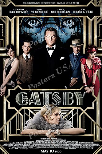 Top the great gatsby movie poster