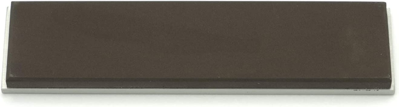 Gritomatic Aluminum Oxide 4 x 1 x 0.25 Sharpening Stone with Aluminum Mounting for KME 1,000 grit