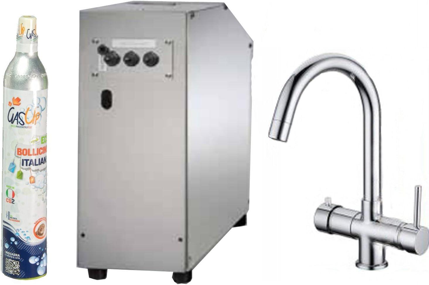 Enfriador bajo fregadero con filtro Refiner AG 350 y grifo 5 Vías: Amazon.es: Hogar