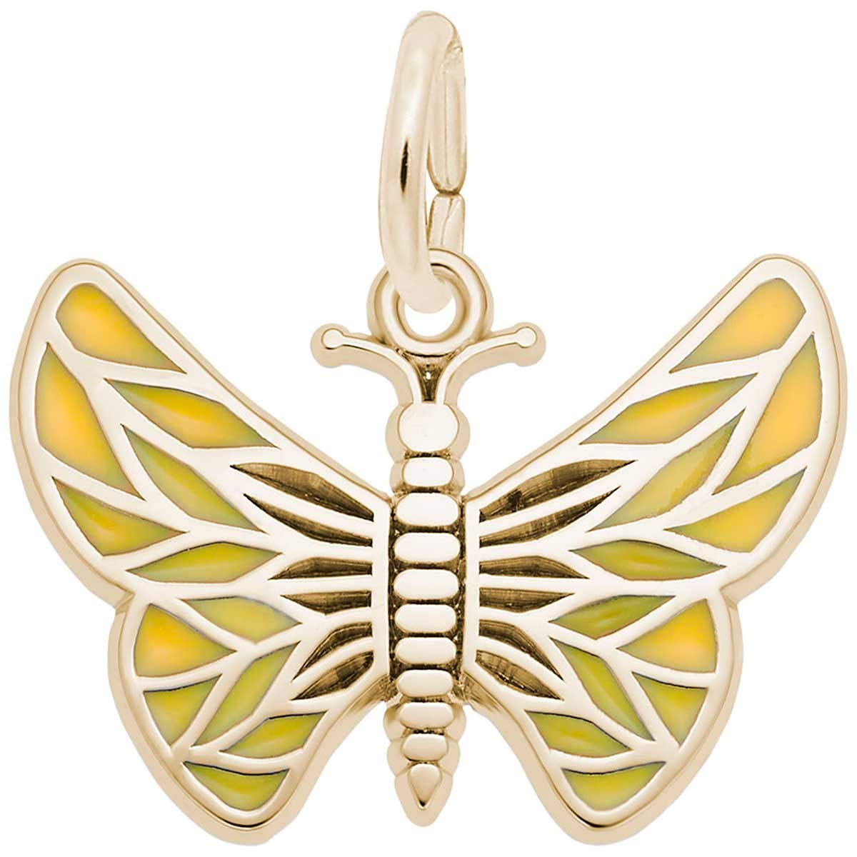 Rembrandt Charms Butterfly Charm