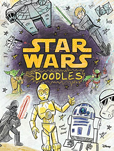 Star Wars Doodles Book Creative Arts and Crafts Geek Gift