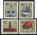 German DDR Stamps 1983 MNH 4v%2E Complet