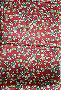 Cute Satin Fabric 6 yards