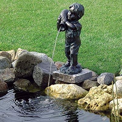 Ubbink Fuente de Agua Yannick 48cm Decoración Exterior para Terraza y Jardín: Amazon.es: Jardín