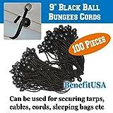BenefitUSA R4 Party Tent Straps, Black