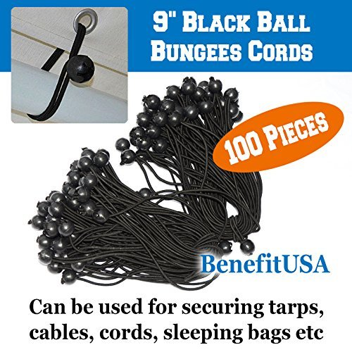BenefitUSA R4 Party Tent Straps, Black Review
