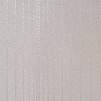 Gleam Silver Modern Wallpaper For Walls