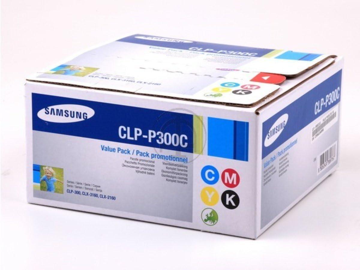 Samsung Clp 300 Clp P 300 C Els Original Toner Multipack Schwarz Cyan Magenta Gelb 1 000 Seiten Bürobedarf Schreibwaren