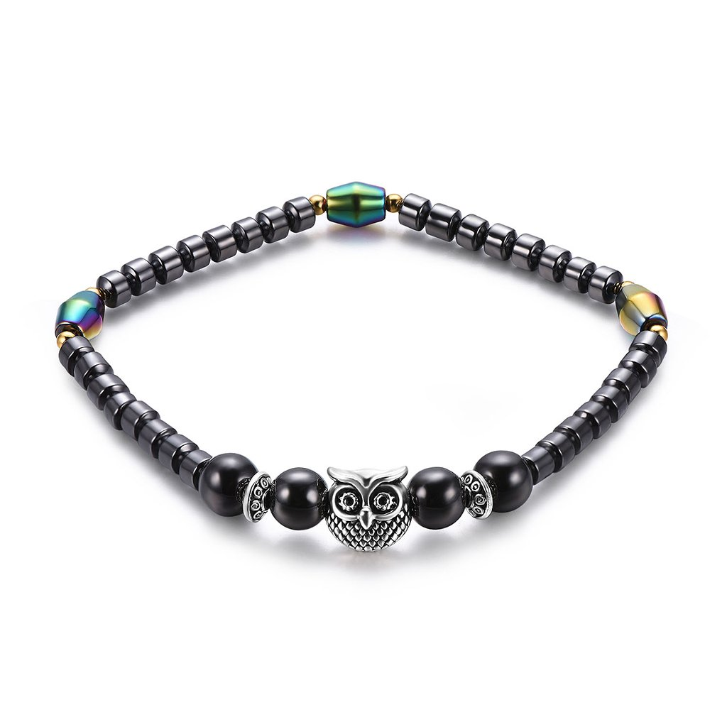Doiber Magnetic Anklet Therapy Stone Ankle Bracelets Health Care Wegitht Loss Jewelry