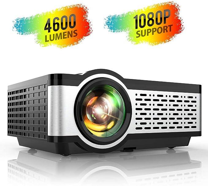 Amazon.com: Proyector, TOPTRO Proyectores de vídeo con 4000 ...