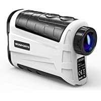 $99 » WOSPORTS Golf Rangefinder, 800 Yards Laser Range Finder with Slope, Flag-Lock with Pulse Vibration, Angle, Continuous Scan Measurement…