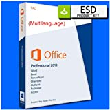MICROSOFT OFFICE 2013 PROFESSIONAL PLUS - ESD - DIGITAL LICENSE (VIA EMAIL IN 1 DAY - NO POSTAL SHIPPING) (legal invoice available for companies/professionals)
