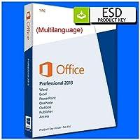 Microsoft Office 2013 Professional Plus Complete   Español   ESD (Código digital) enviada por correo electrónico   licencia perpetua