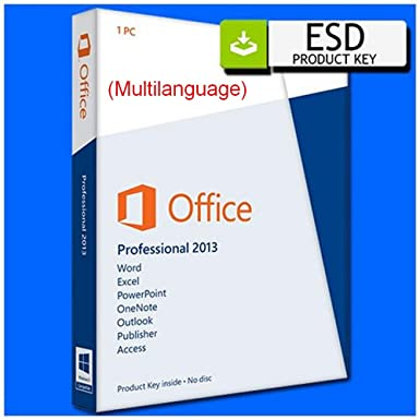 microsoft office professional 2013 key product