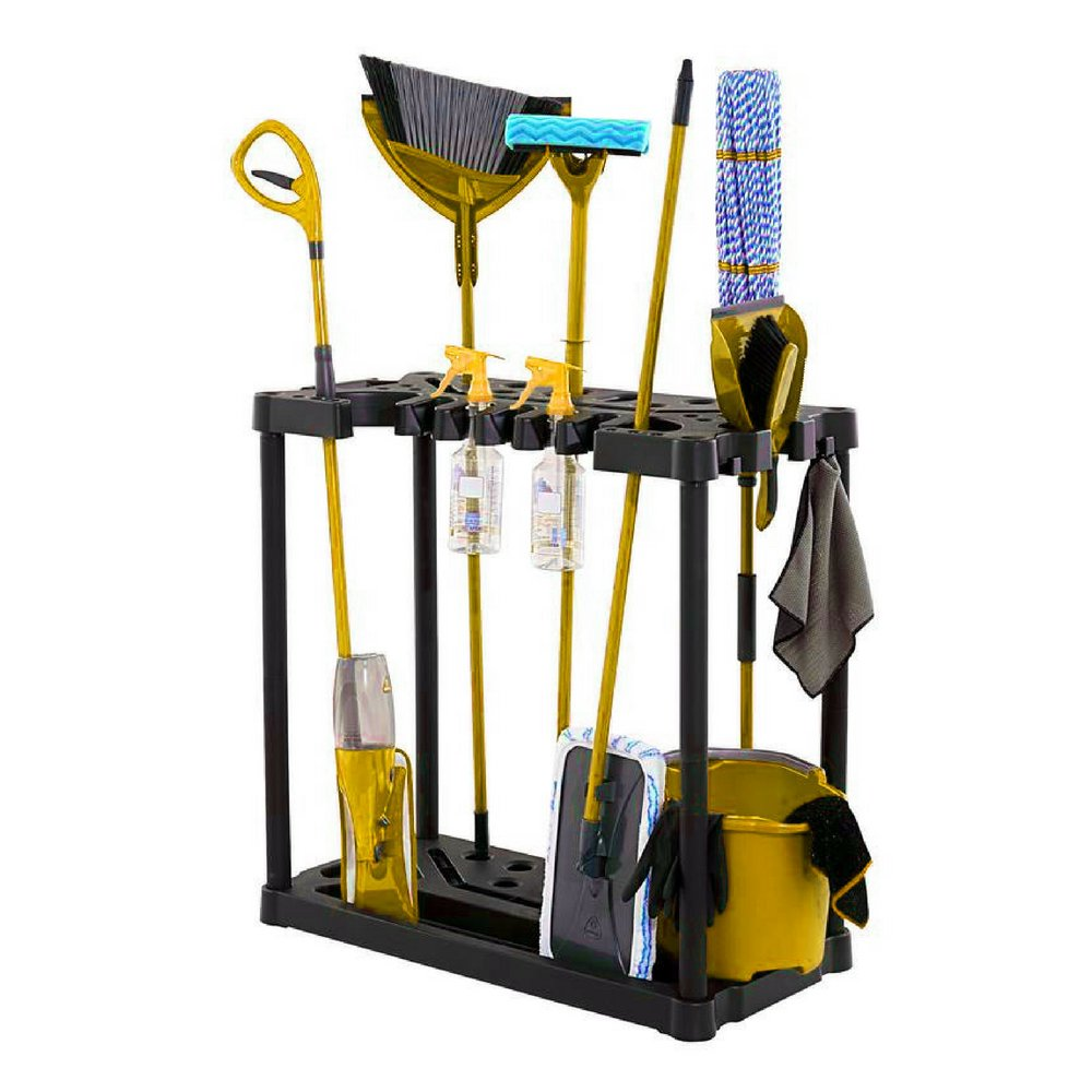 BS Garden Tool Organizer Rack Storage Floor Tools Holder Sturdy Lightweight 40 Handle Stand-up Tool Organizer Solid Base Stable Construction Storage Utility for Home Garage Shed & eBook by BADA shop by BS (Image #1)