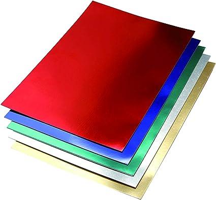 Pack 10 Cartulinas Color Oro Metalizado Tamaño 50x65 230g: Amazon.es: Oficina y papelería