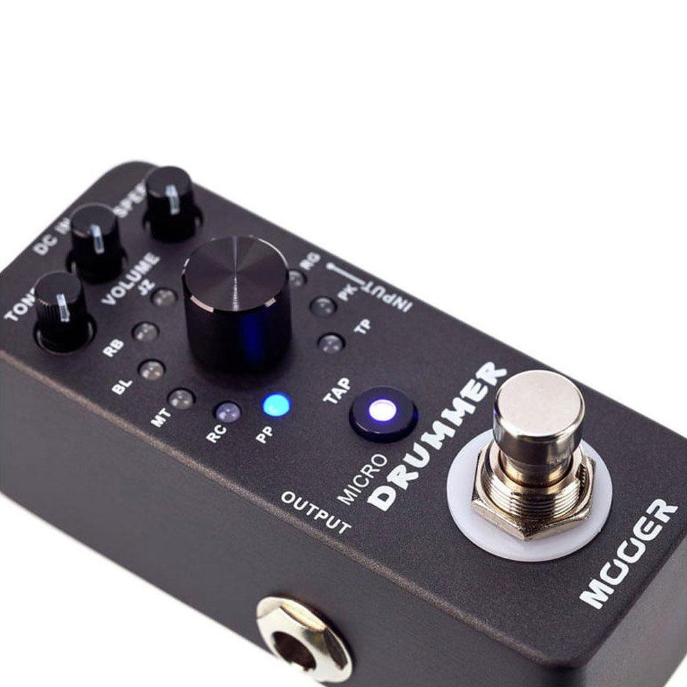 Mooer Micro Drummer - Pedal de efectos para guitarra: Amazon.es: Instrumentos musicales