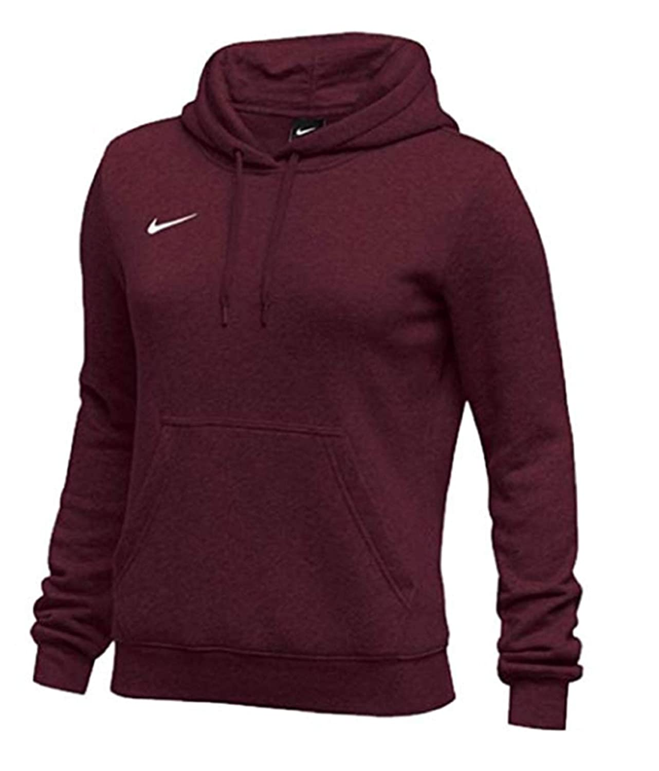 0df7ce45 Nike Womens Pullover Club Fleece Hoodie at Amazon Women's Clothing store: