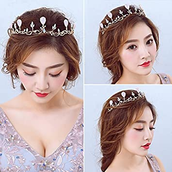 923890ccac8 Amazon.com   Quantity 1x Korean style Wedding Headband  for Sophia ...
