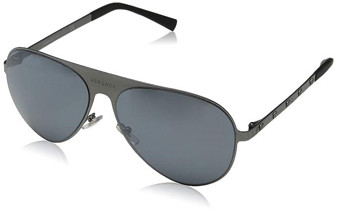 Amazon.com: Versace Aviator - Gafas de sol para mujer, Multi ...