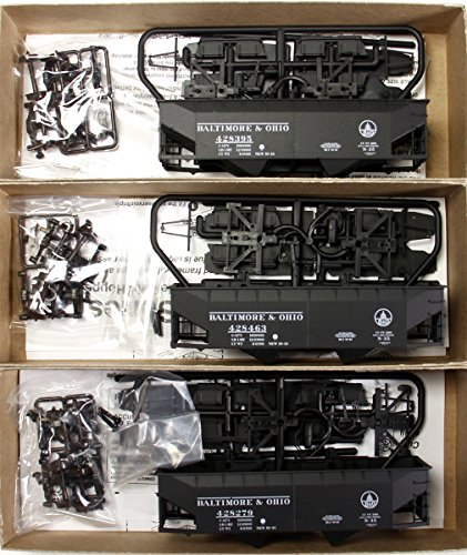 Accurail 8058 HO Scale Baltimore & Ohio Offset Twin Hopper 3-Pack