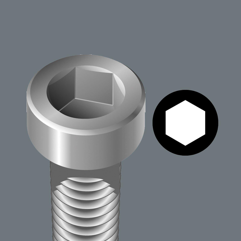 Wera 05002940001 Varilla Combinada para Tornillos de Hex/ágono Interior 4 mm