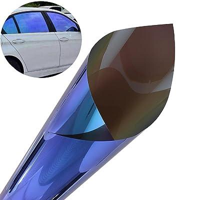 ATMOMO Windshield Chameleon Car Solar Window Tint for Side Window Glass Film 19.68 Inch x 118 Inch: Automotive