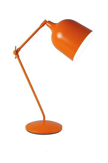 Aluminor MEKANO LT O - Lámpara de escritorio, color naranja