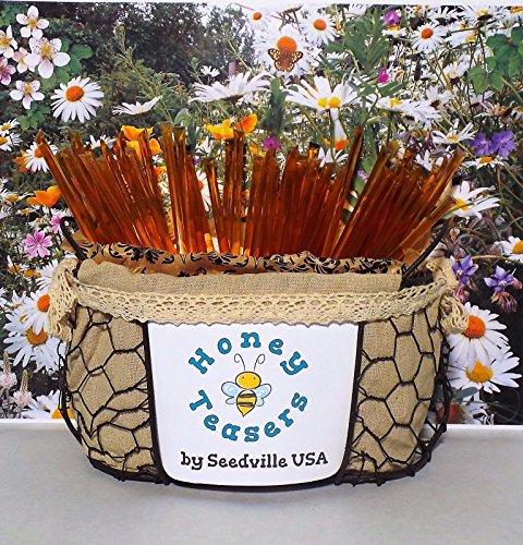 R HONEY TEASERS Natural Honey Snack Sticks Honeystix Straws (Honeystix Straws)