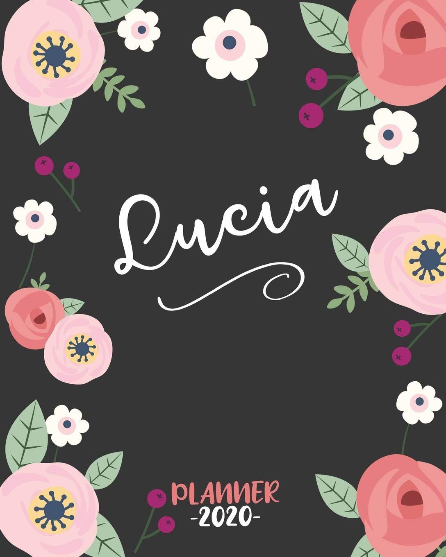 Amazon.com: Lucia: Diario Agenda Settimanale Datato con ...