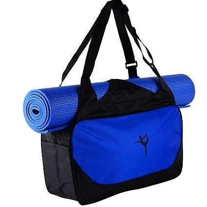 2de915e9bfc3 Handfly Exercise Yoga Mat Carry Bag Sports Bag Dance Bag Duffle Bag with Sturdy  Nylon