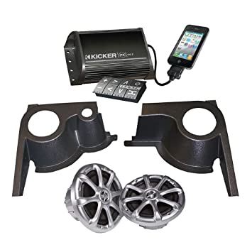 Amazon.com : EZGO 750418PKG Kicker Speaker System and Pods Package : Patio, Lawn & Garden