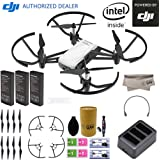 DJI Tello Quadcopter Drone Boost Combo with HD Camera and VR, comes 3 Batteries, 8 Propellers, Powered by DJI Technology and Intel 14-Core Processor, Coding Education, Throw and Go