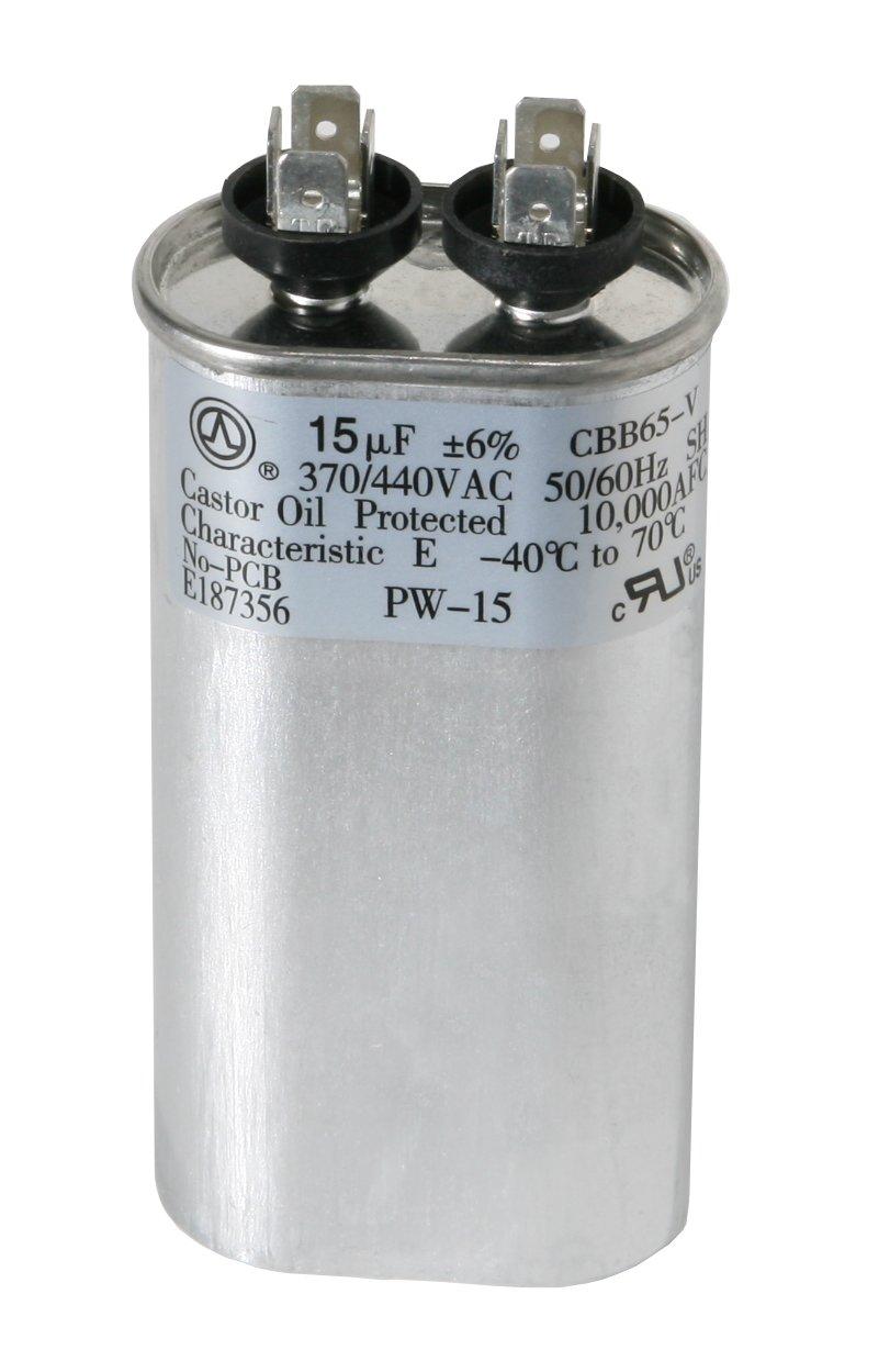 Condensador de Arranque para Motor de Microfarad 12,5 UF, 12,5 MFD, 450 Vac Find A Spare