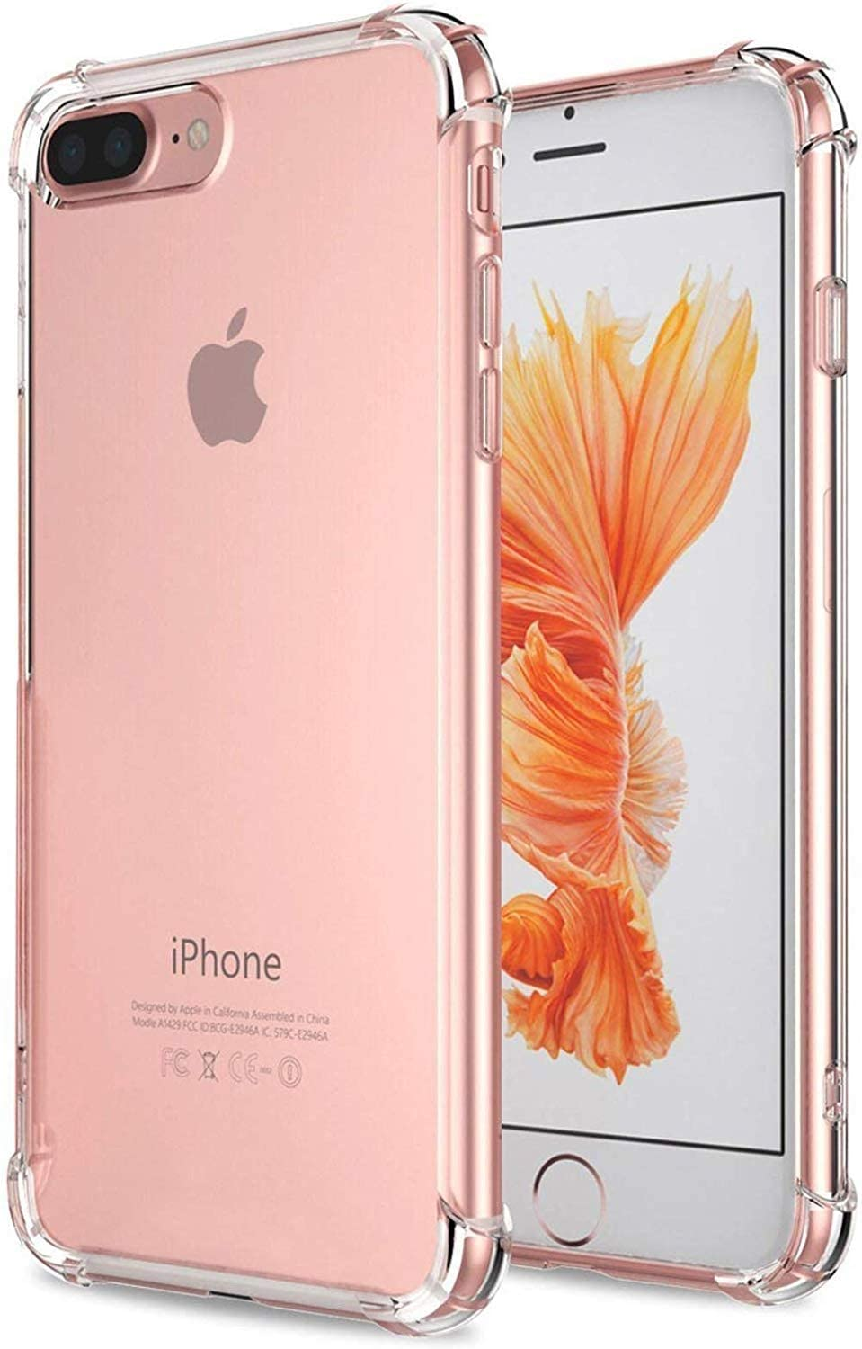 Clear Soft Case for iPhone 8 Plus/ 7 Plus