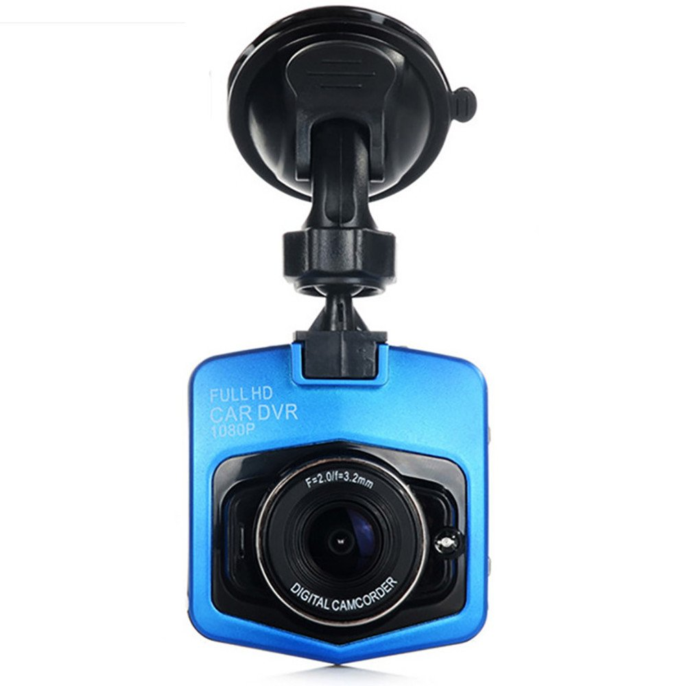 Cebbay Camara de Coche 1080p LCD de Alta resolución de 2.4 Pulgadas GT300 cámara grabadora de Video Sprint Funcion Sensor Grabación Circular Detección de ...
