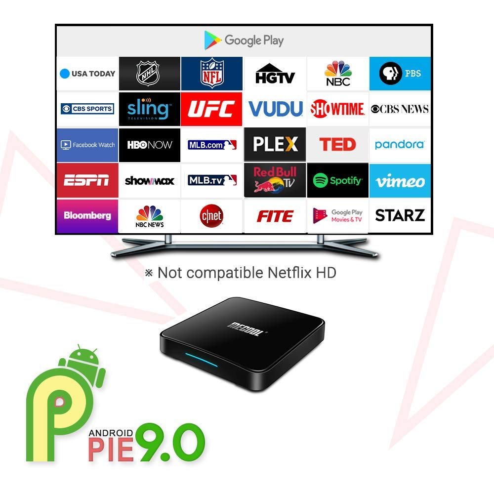 Amazon.com: MECOOL Android 8.1 Smart TV Box con Amlogic ...