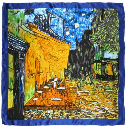 Silk Silkart Gogh Juego noche Van de Caf nxwEEUtT