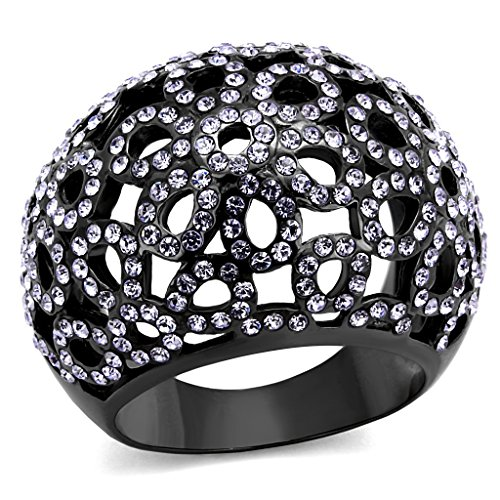 Studded Dome Ring - 6