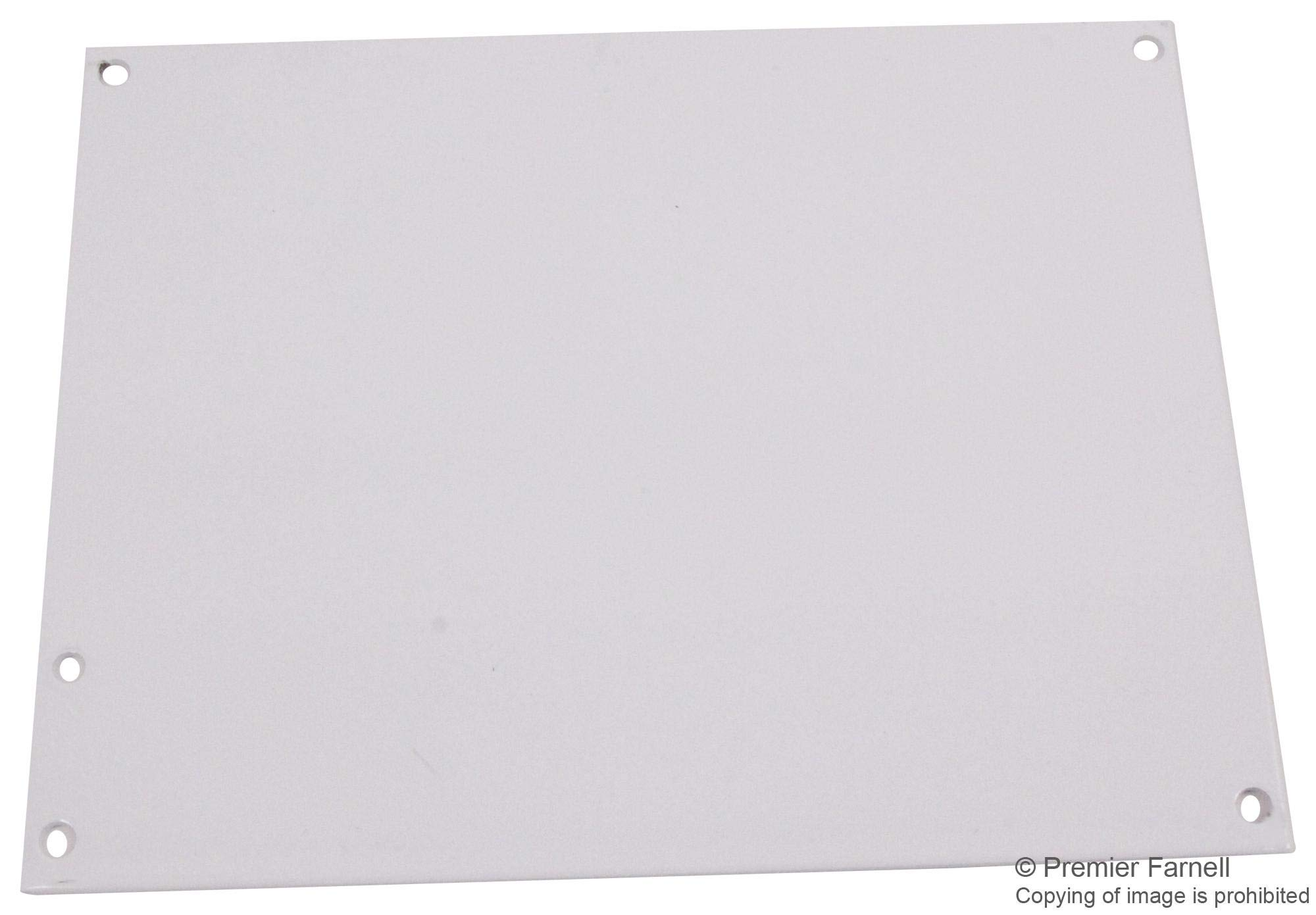 A10P8 - Panel, 14 Gauge, Steel, White, Junction Boxes, 222 mm, 175 mm (Pack of 2) (A10P8)