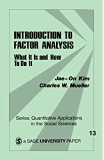 Factor analysis (Saunders books in psychology)