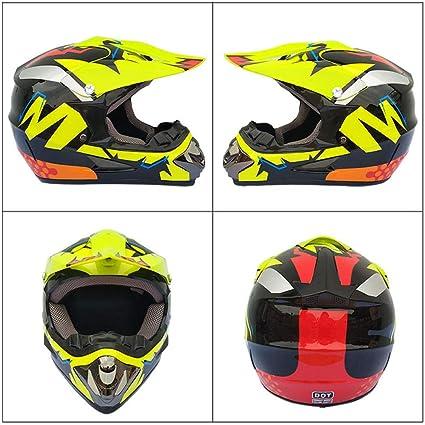 TOUKUI Nuevo casco de motocicleta Moda Motocross Off Road ...