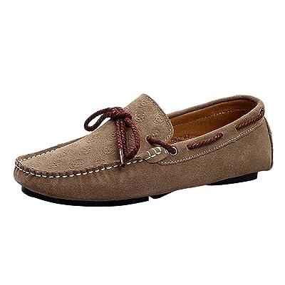 Baymate Hombres Mocasines Casual Zapatos De Conducción Antideslizante suelas