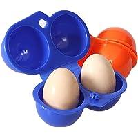 Lalang Tragbare Eierbehälter Eierträger, Eieraufbewahrung Eier Storage Ideal für BBQ,Picnik draußen