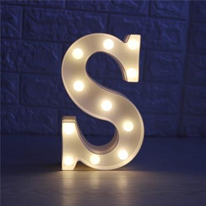 amazon com cskb led marquee letter lights 26 alphabet light up