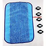 Braava and Mint 5 x Wicks + Cloth For Reservoir Pad 14576 380 380t 5200 4200 irobot