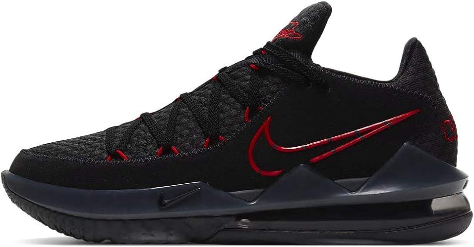 Perdido Retorcido tuyo  Nike - Lebron Xvii Low - CD5007001 - El Color: Negros-Rojos - Talla: 30 cm:  Amazon.com.mx: Ropa, Zapatos y Accesorios