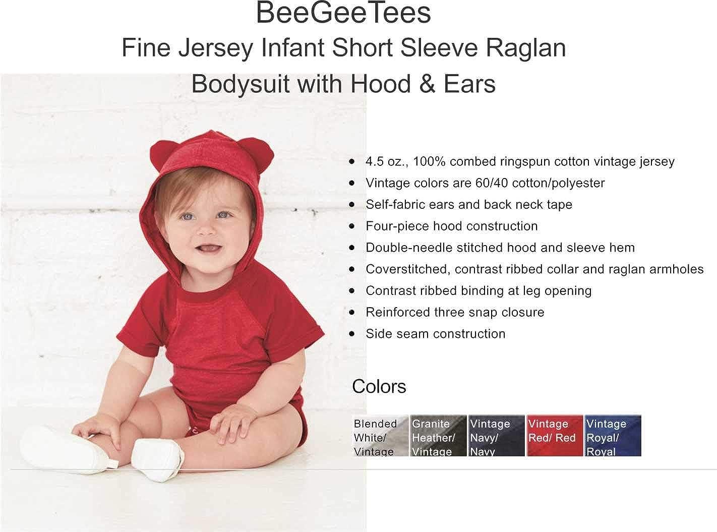 BeeGeeTees Accio Spoon Funny Baby Romper Infant Wizard Bodysuit