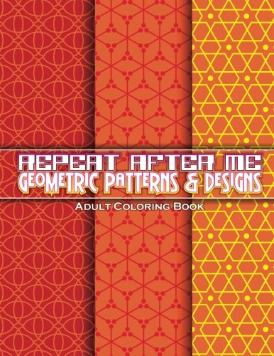 Repeat Geometric Patterns Designs Coloring product image
