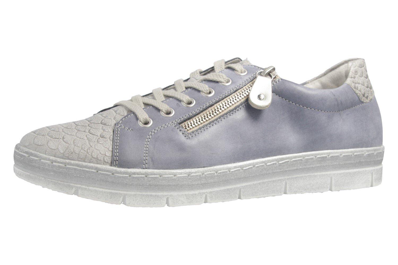 Remonte D5800, Zapatillas para Mujer 44 EU shark/jeans/silver / 14